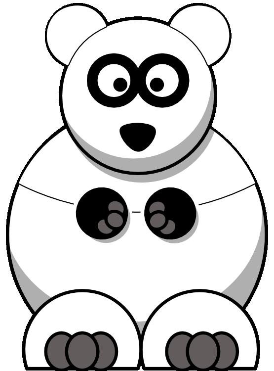 Clipartist net panda line. Grains clipart black and white