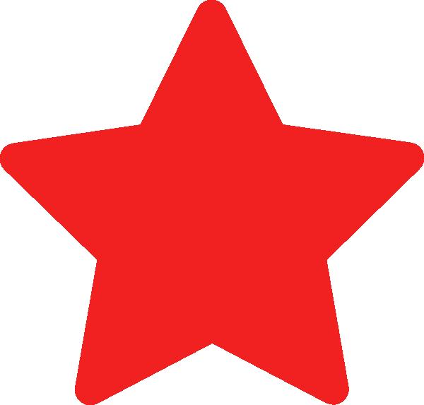 Clipart stars sherrif. Red star clip art