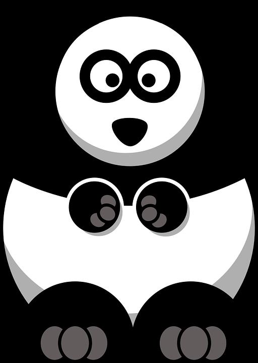 Clipart rat home. Panda cub free on