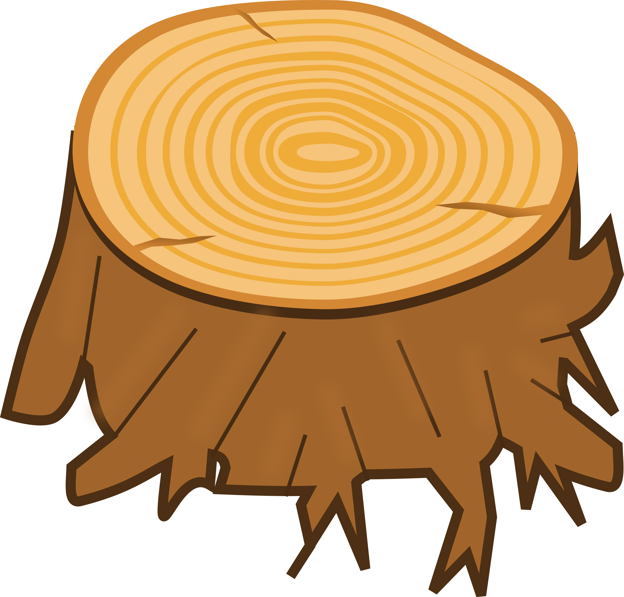Tree trunk clip art. Driver clipart aggressive driving