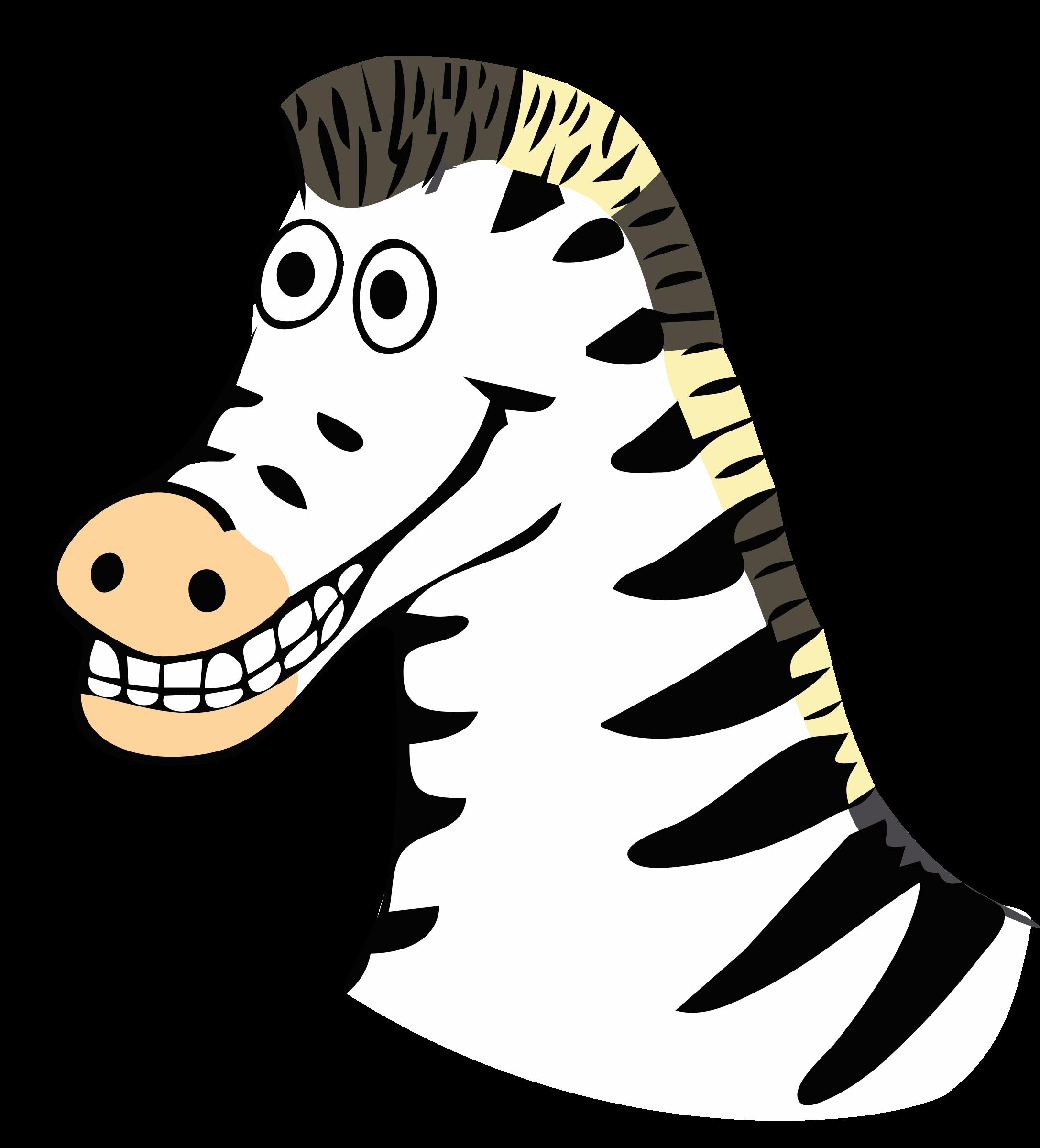 Drawn big image png. Cute clipart zebra