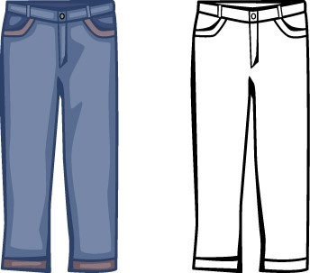 Kids free download on. Clipart pants