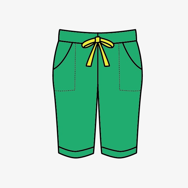 Clothes cartoon png image. Clipart pants