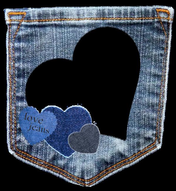 Cadres frame rahmen quadro. Clipart pants blue jean
