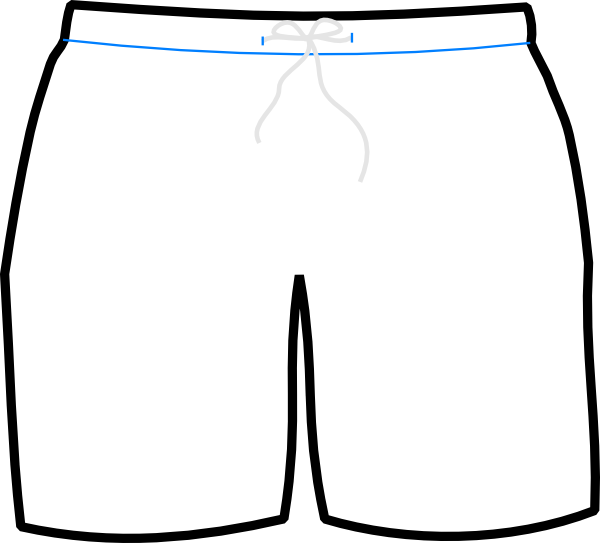 Swimsuit pants