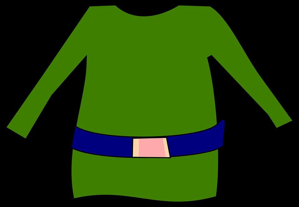 Elf pants pencil and. Dress clipart vector