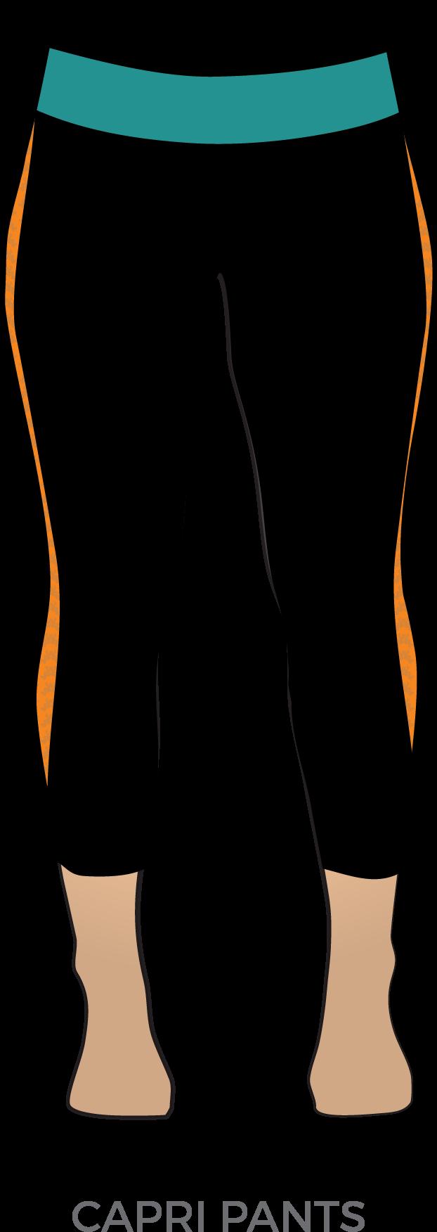 Clipart pants capris. Pant uniform