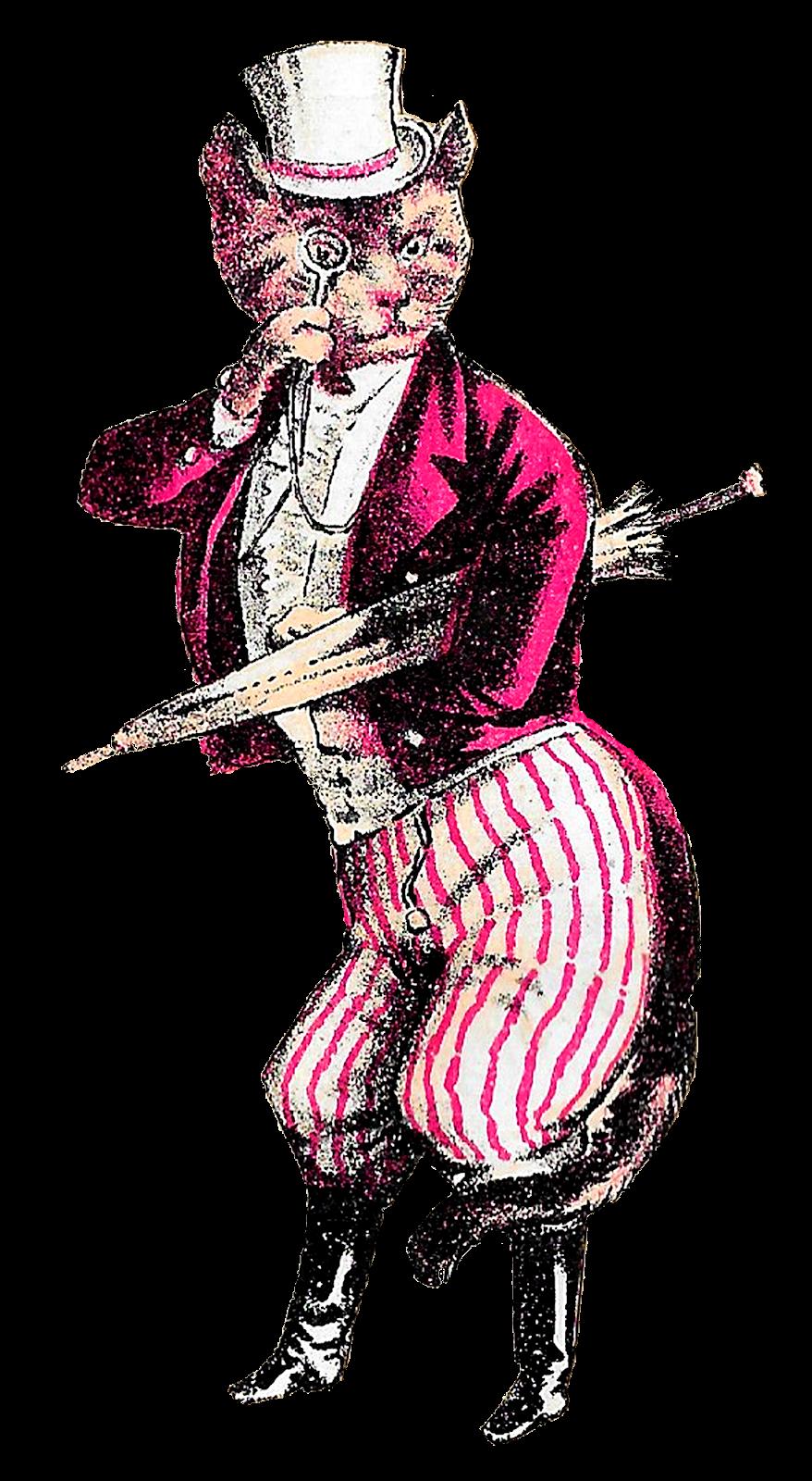 Antique images funny victorian. Costume clipart suit