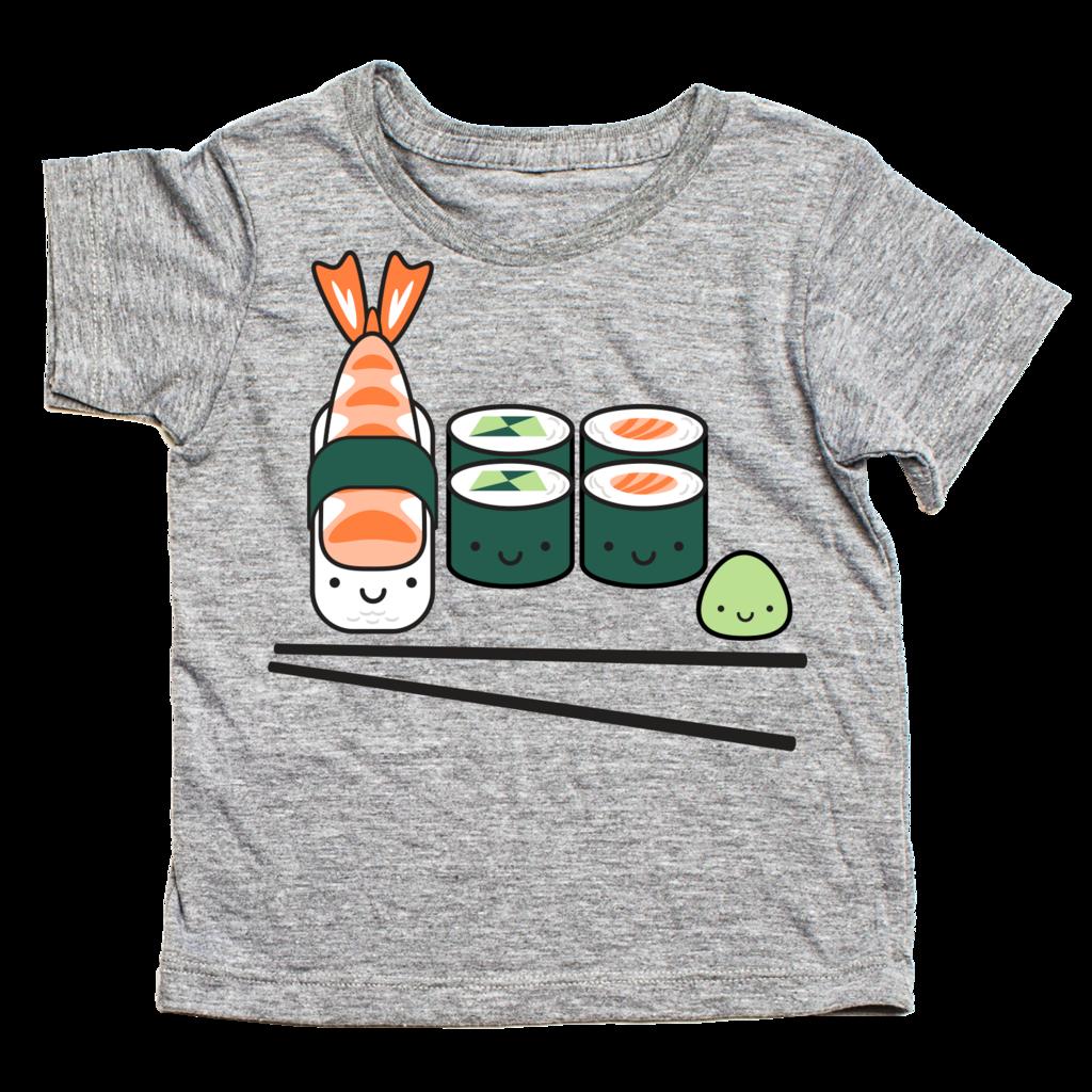 Kawaii sushi t shirt. Pajamas clipart tshirt