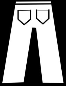 Pants clipart line art. Free pant cliparts download