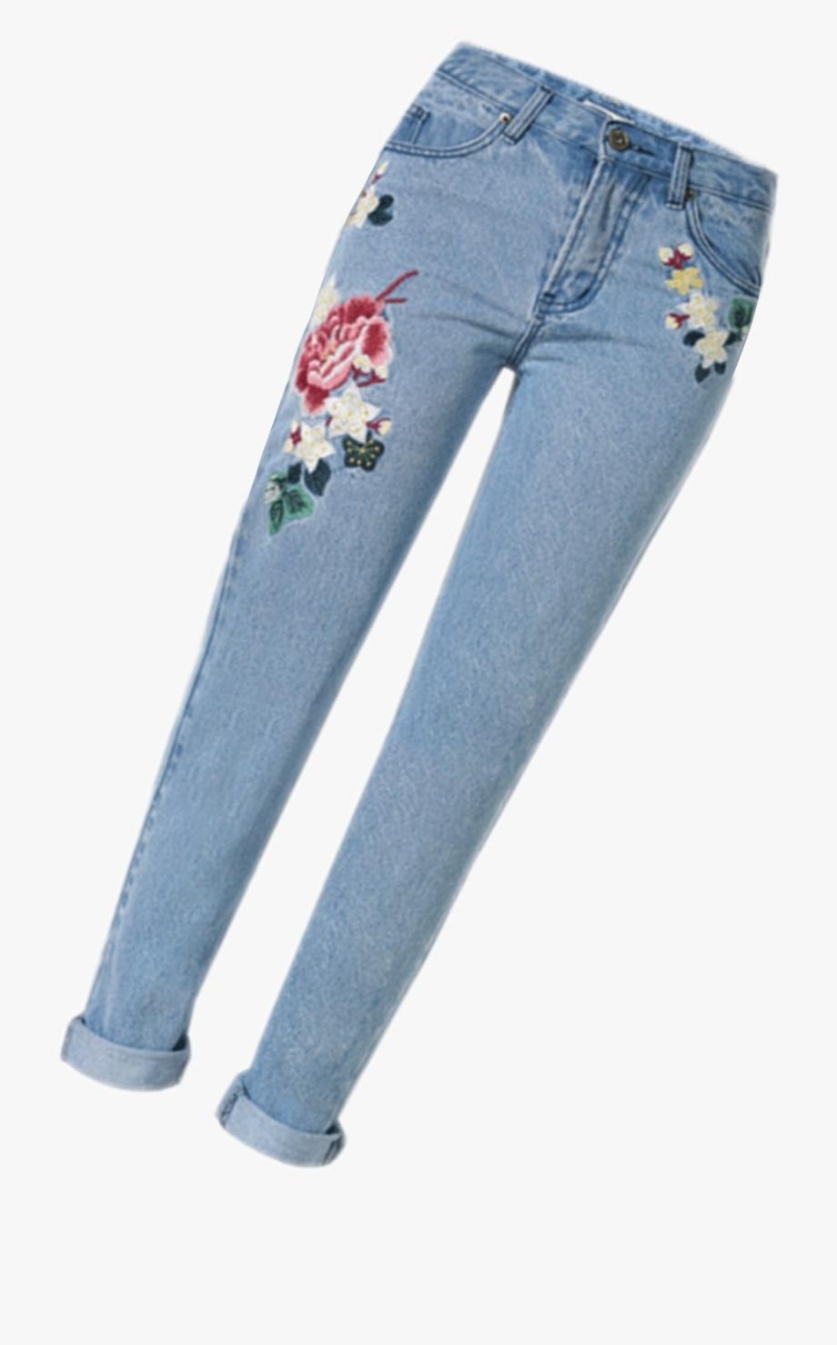 Blue jean tumblr transparent. Pants clipart long pants
