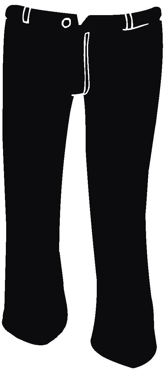 Pants clipart black thing. Pant clip art panda