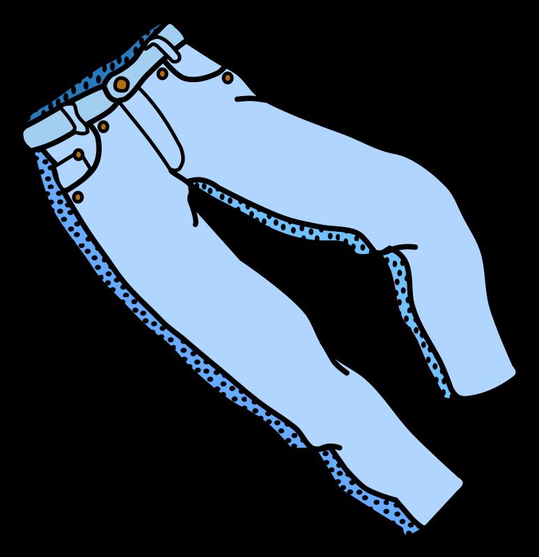 Clipart pants school trousers. Coloured medium image png
