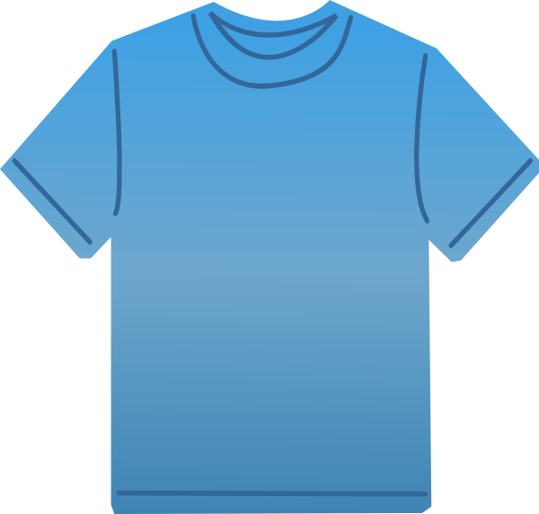 T clip art at. Clipart shirt animated