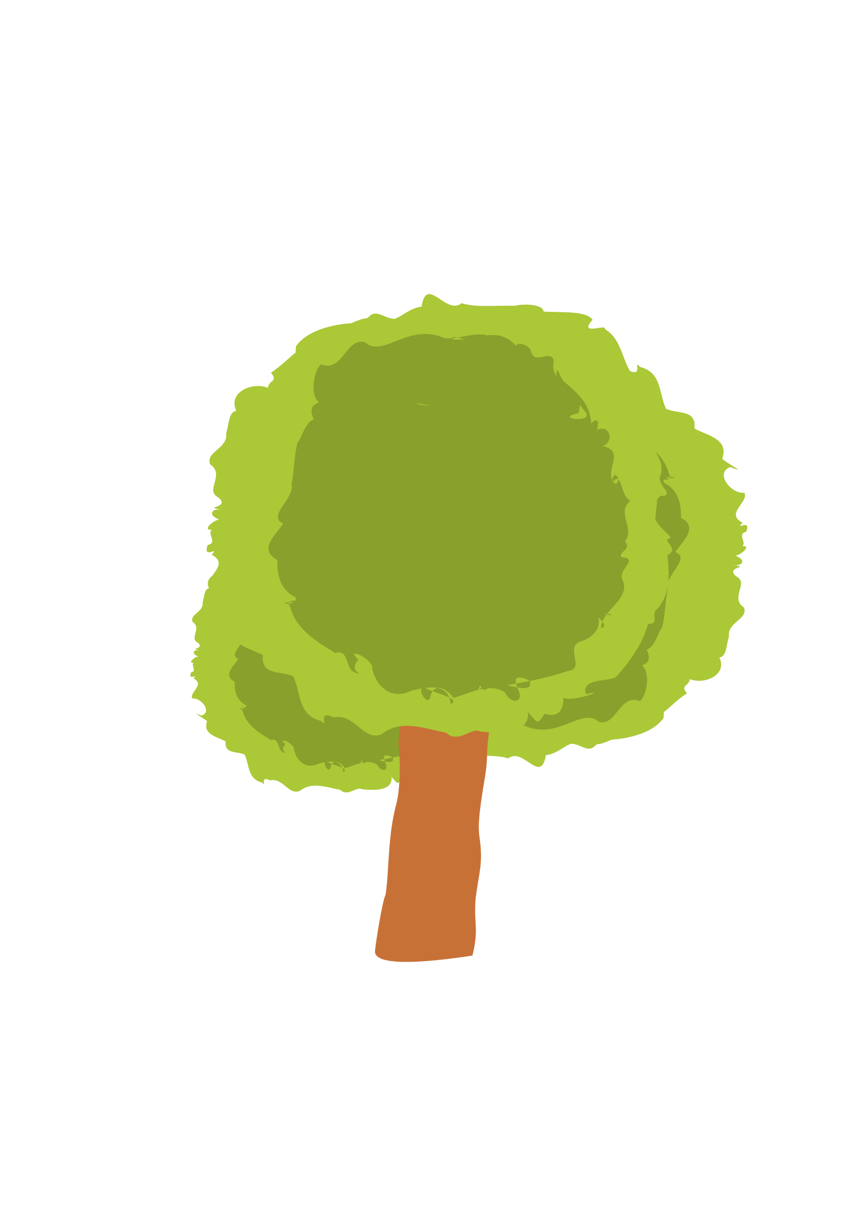 Short tree 2 by @ejmillan, Tree created for the environment of the ...