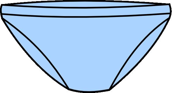 Free under pants cliparts. Underwear clipart blue