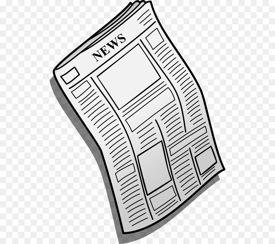 Student cartoon text transparent. News clipart newspaper article