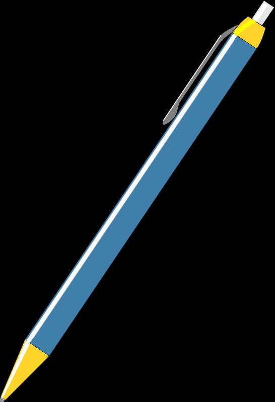 The ball pen analogy. Journal clipart ballpen