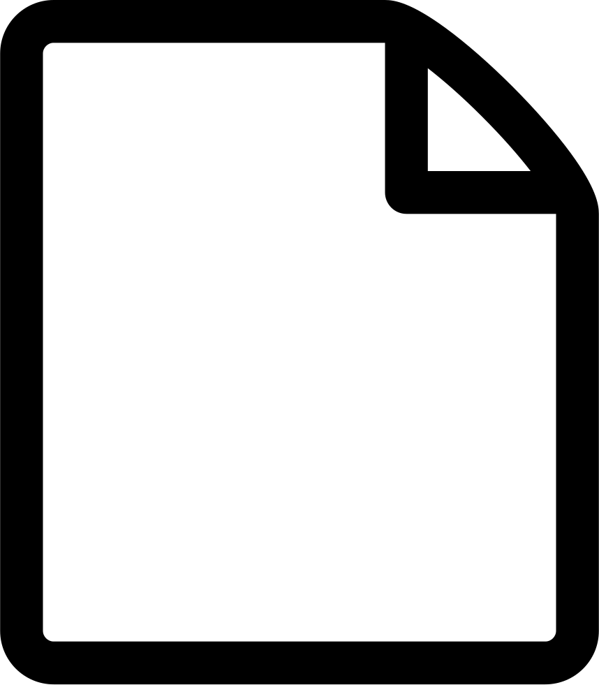 document clipart blank document
