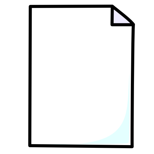 Blank cliparts zone . Paper clipart page
