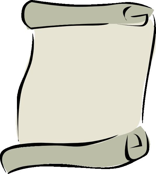 Parchment paper portrait symbol. Newspaper clipart newspapaer