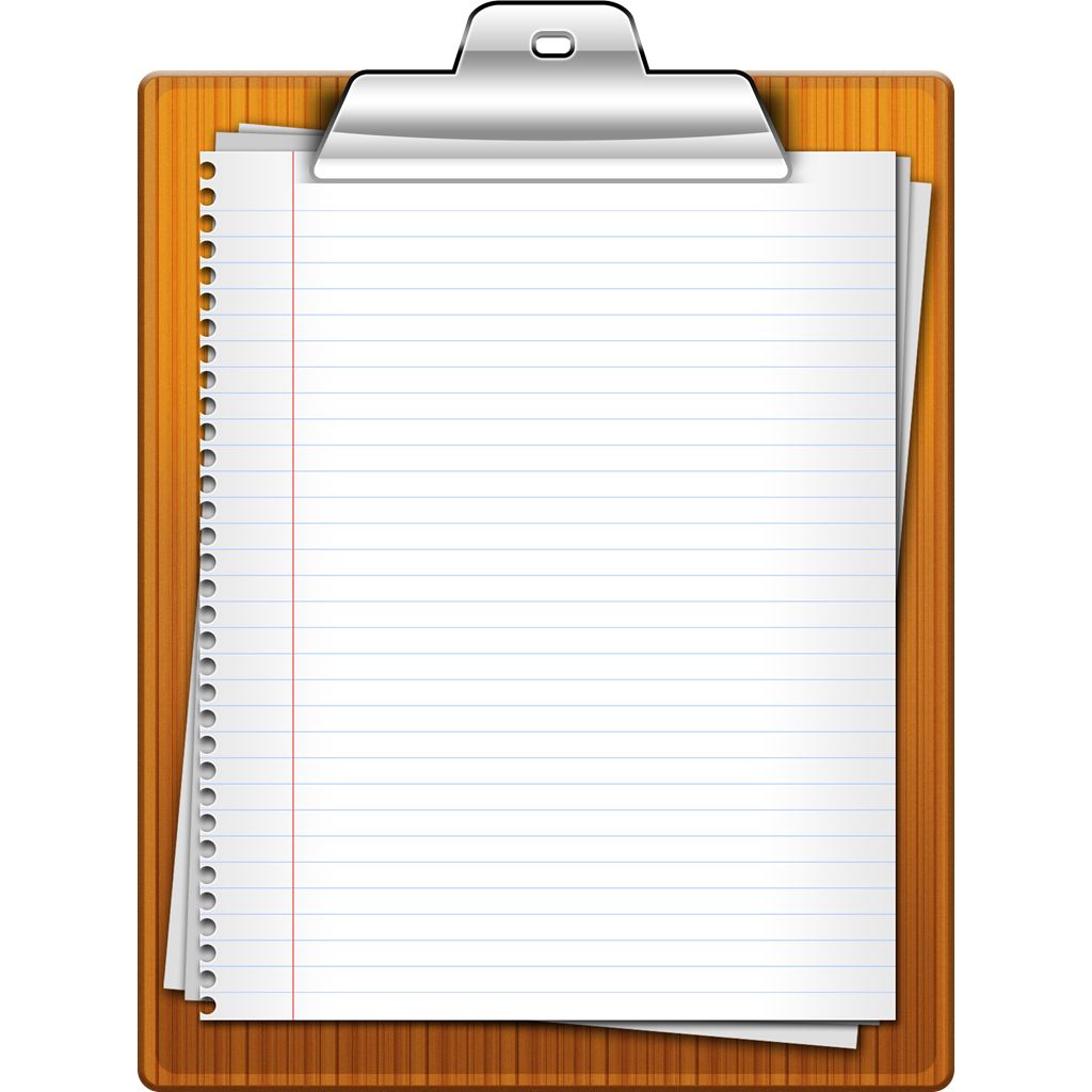 Paper clipart clipboard. Icon size