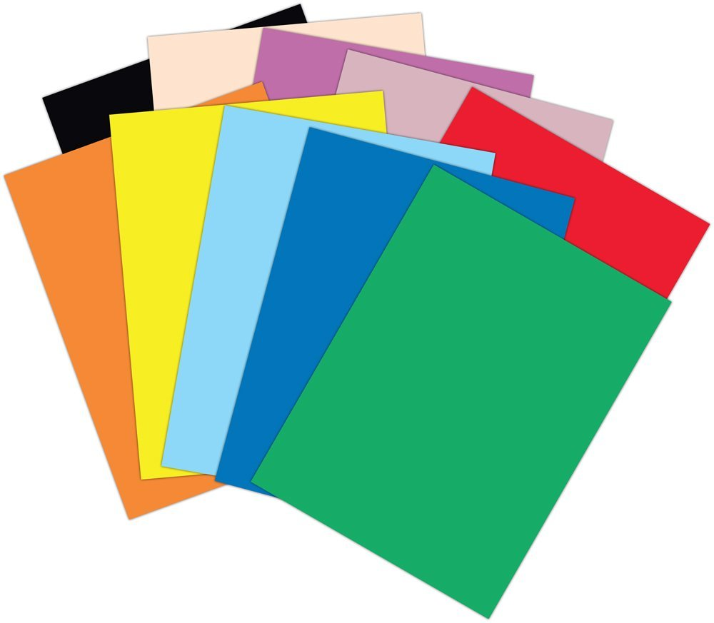 Clipart paper color paper. Stack of colored panda