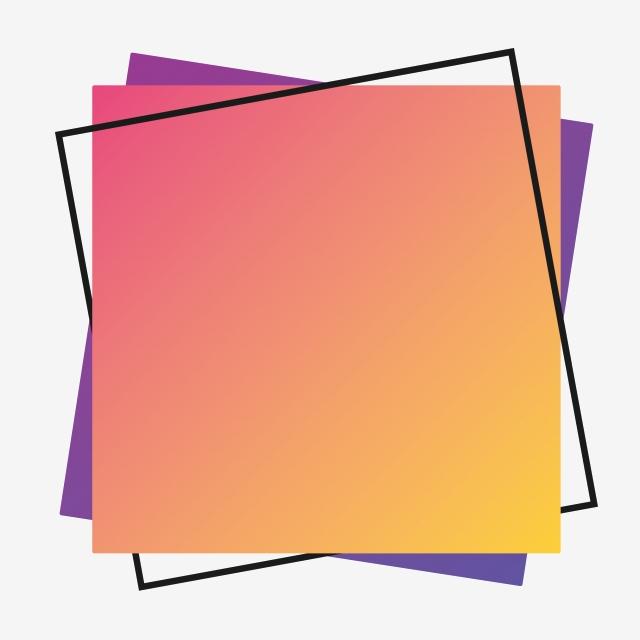Square border decorative . Clipart paper color paper
