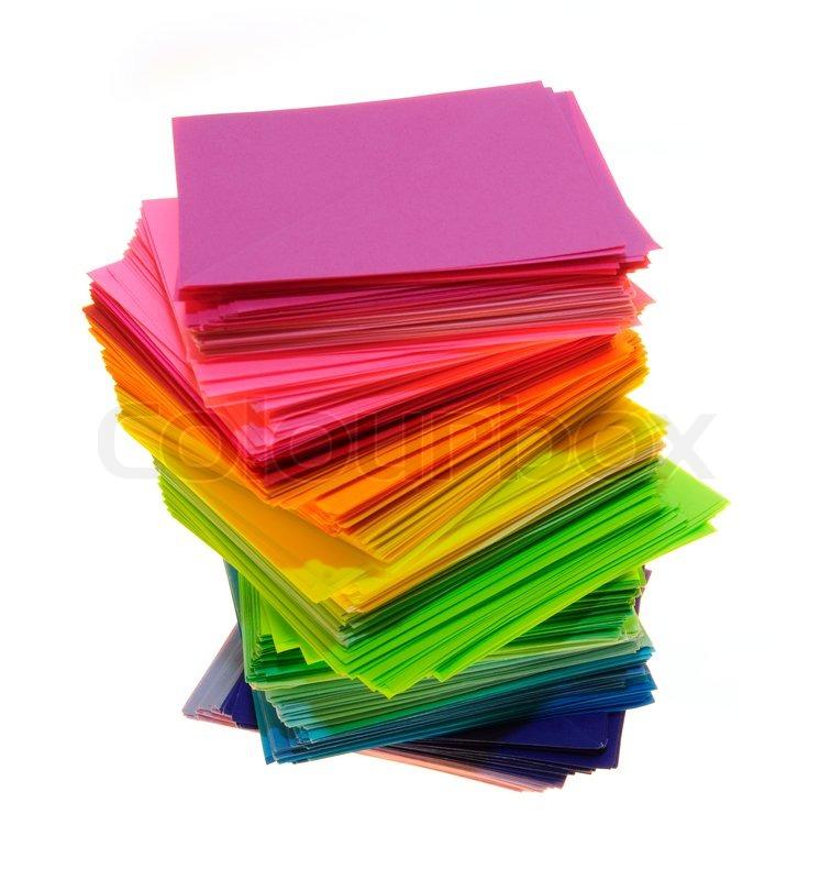 Various stack like panda. Clipart paper color paper