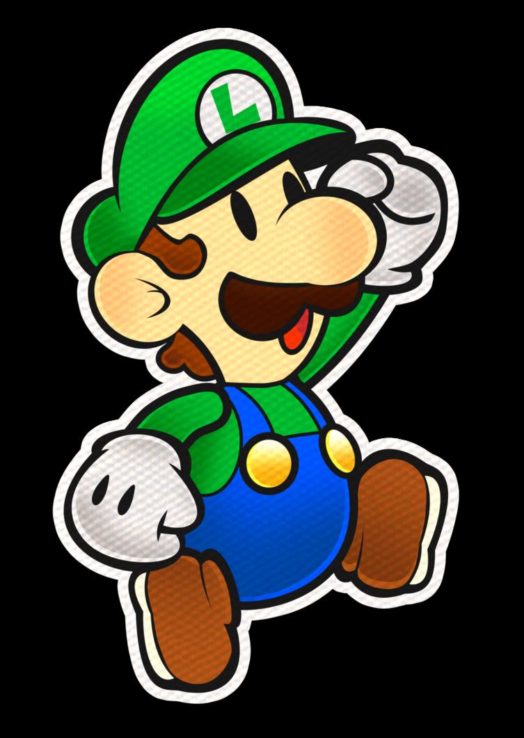 Luigi splash style by. Clipart paper color paper