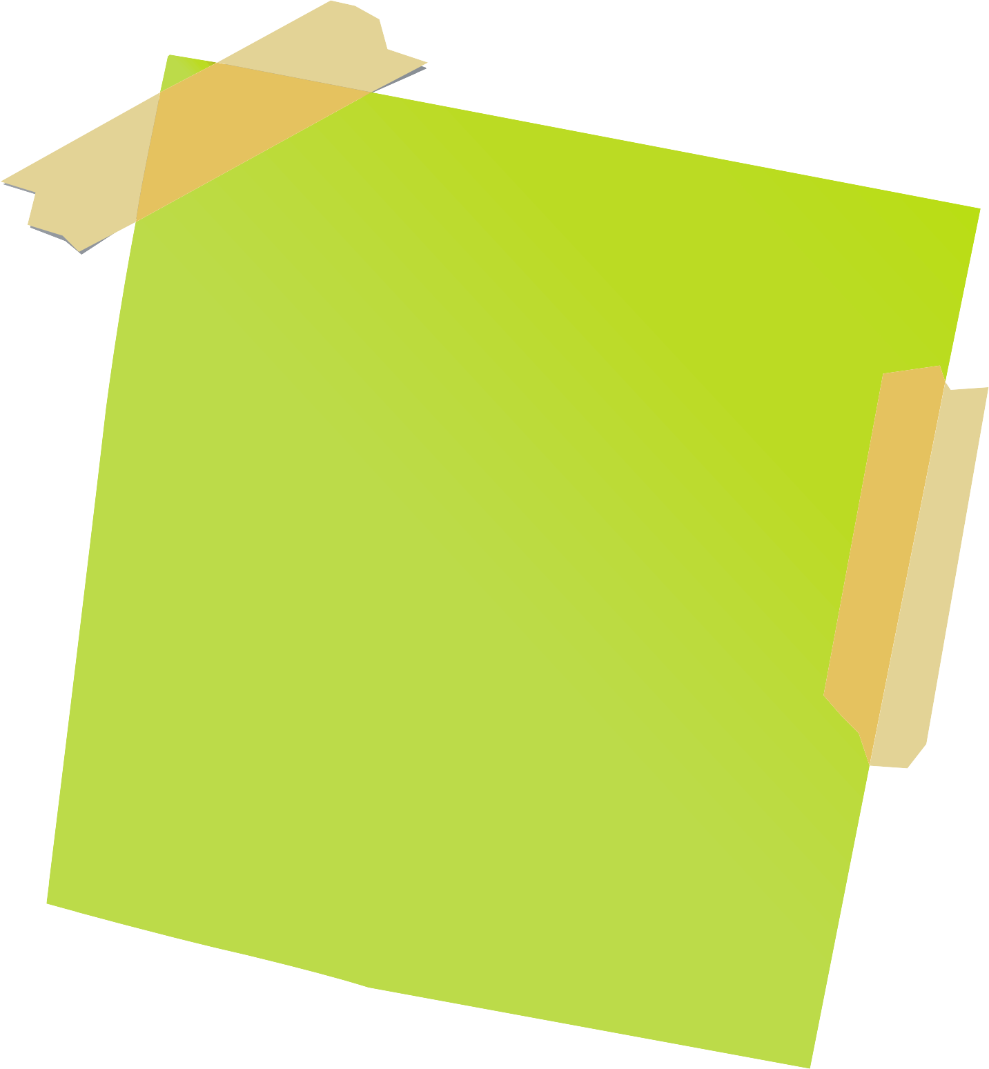 Sticy notes png image. Paper clipart sticky note
