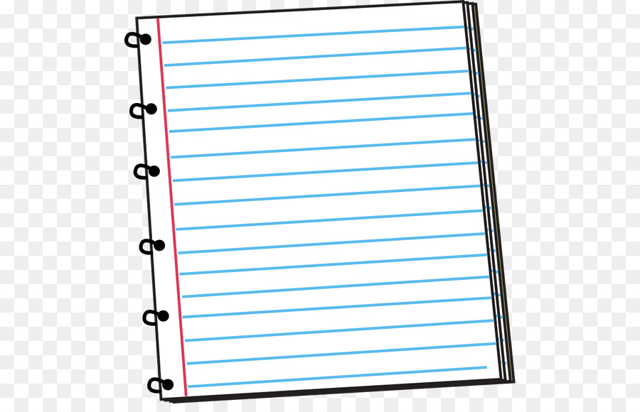 Notebook png free . Clipart paper cute