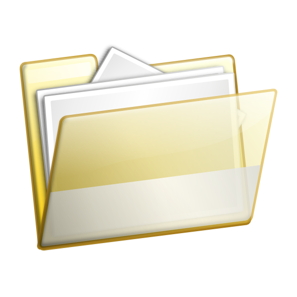 Report clipart important document. Simple folder documents clip