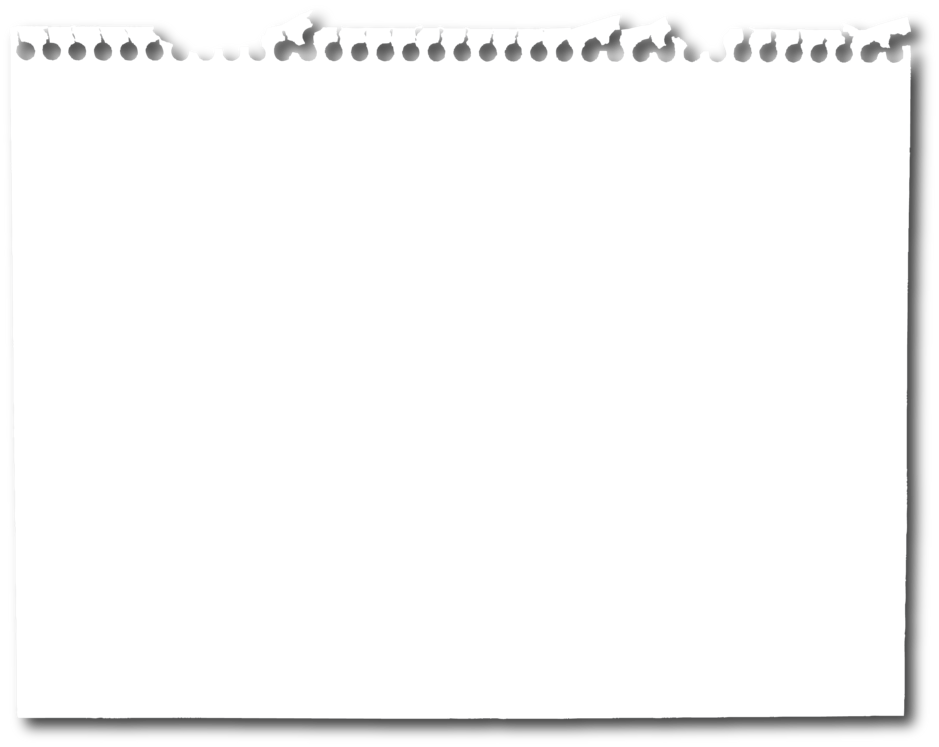 Paper clipart binder paper. Torn piece of png