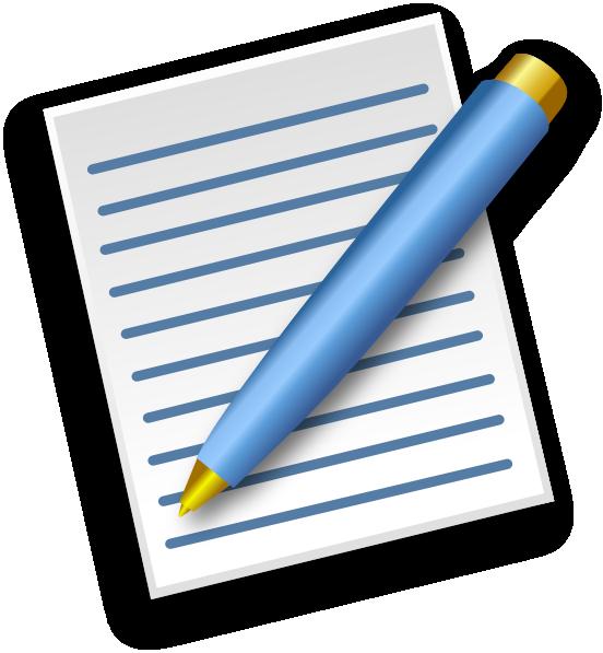 Paper clipart ballpen. Pen and