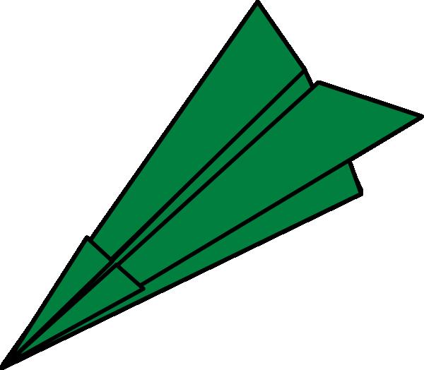 Green plane clip art. Paper clipart jet