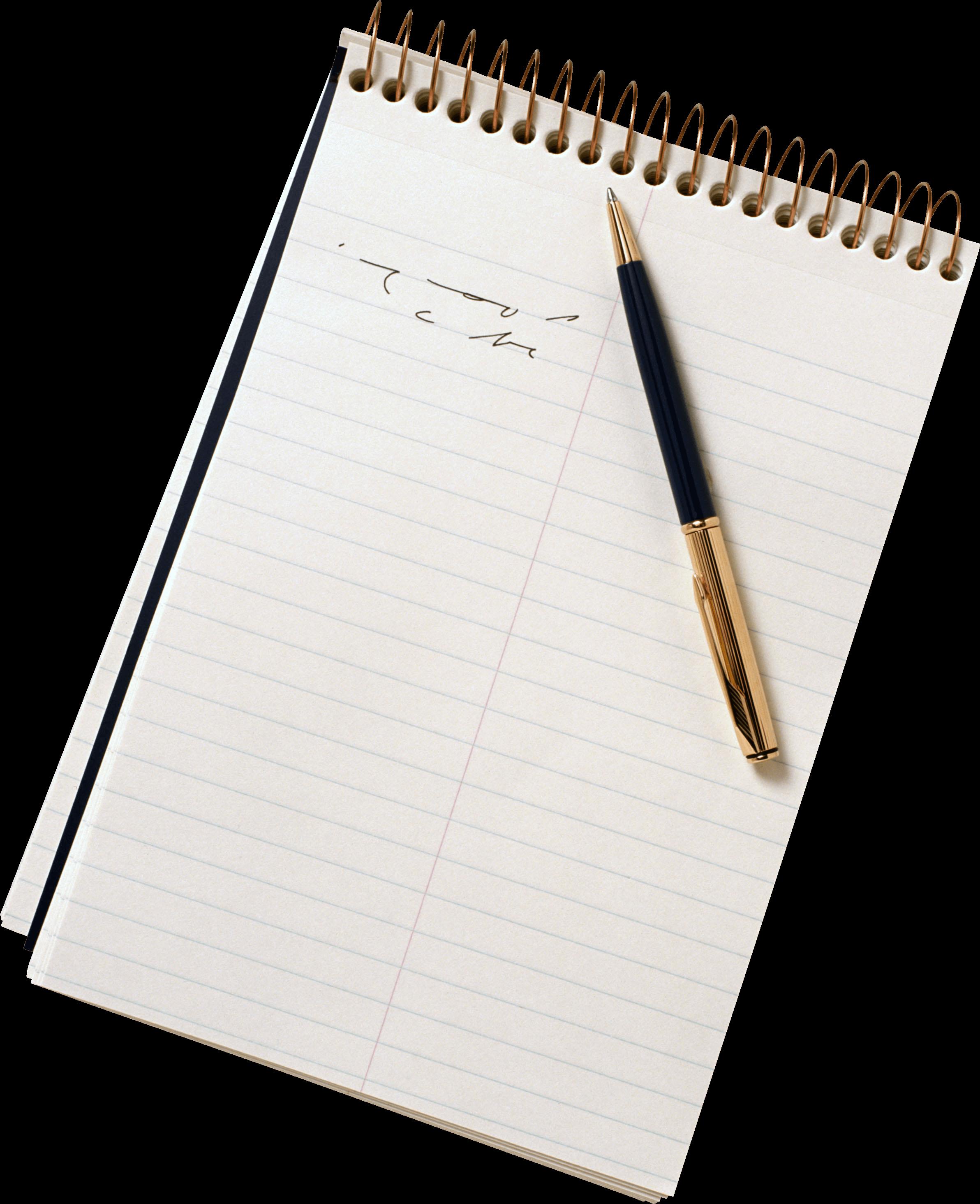 Scroll paper landscape transparent. Notebook clipart notebook pen