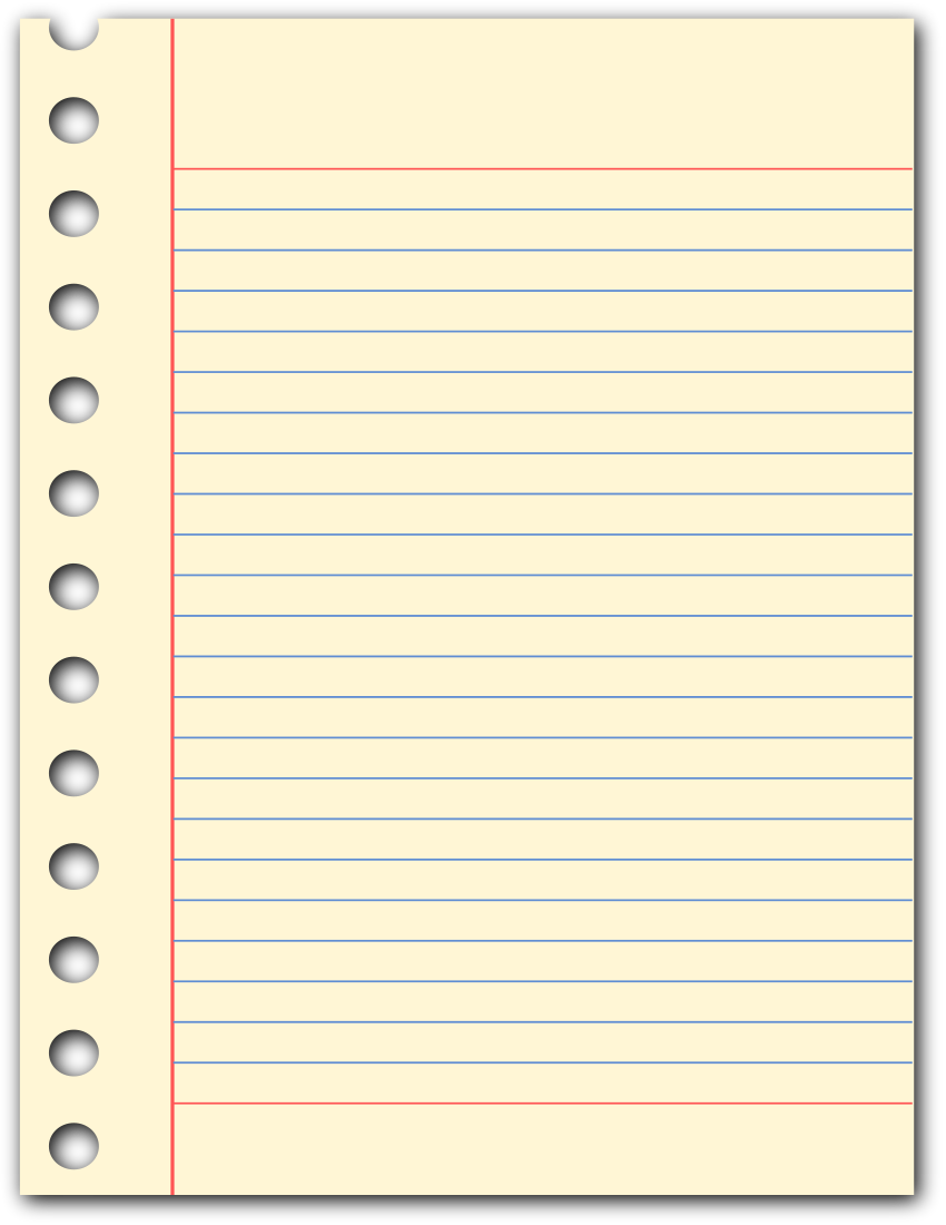 Yellow lined template datariouruguay. Clipboard clipart ruled paper