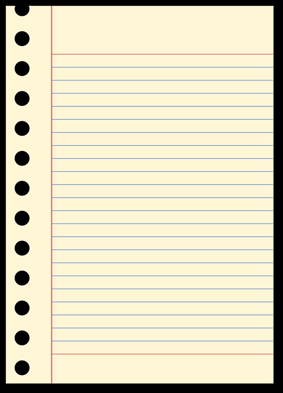 Public domain clip art. Notebook clipart blank notebook
