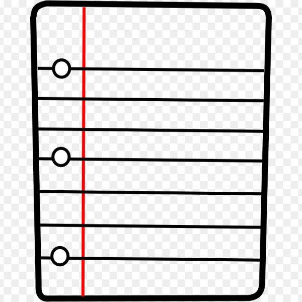 Journal clipart paper outline. Notebook free content clip
