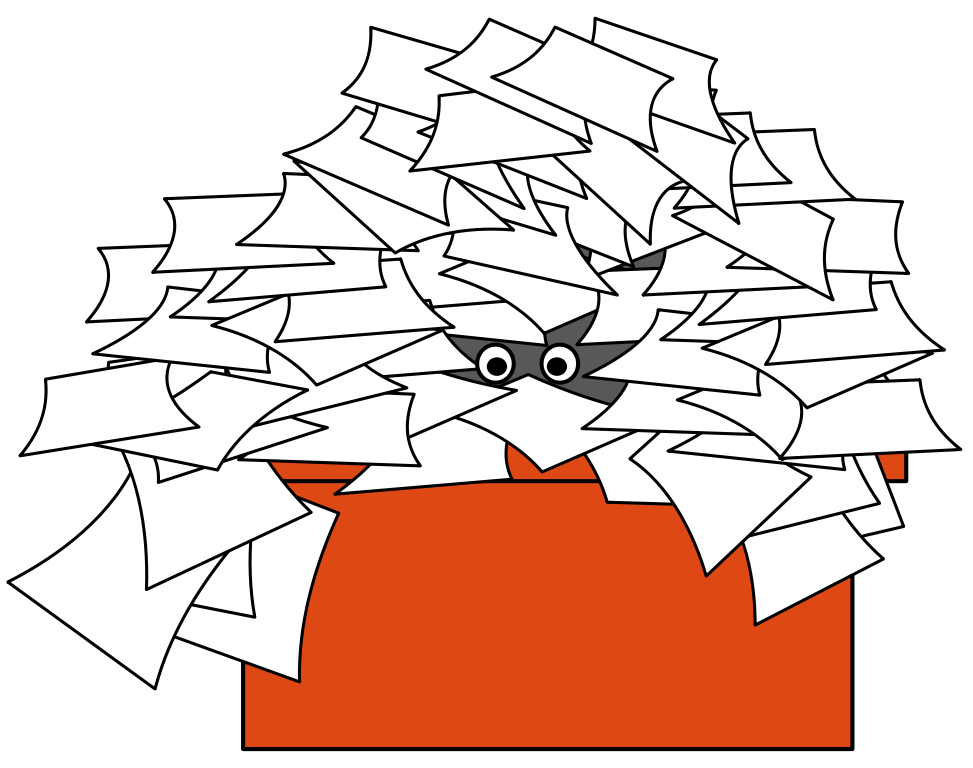 Piles of how long. Clipart paper paper pile