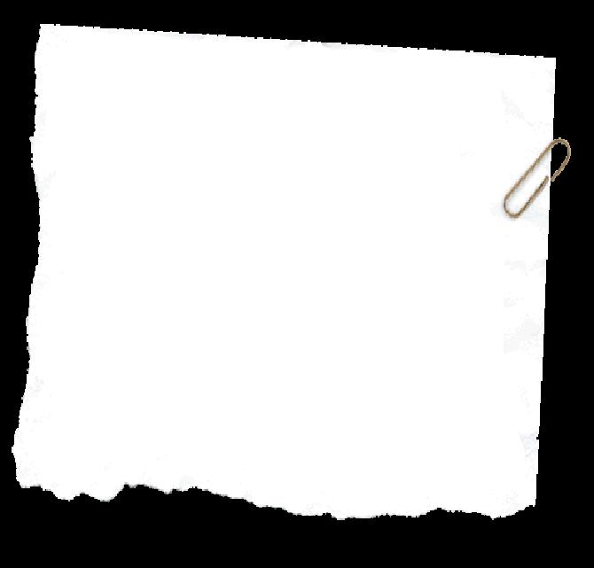 Notebook torn