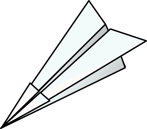 Toy plane clip art. Paper clipart jet