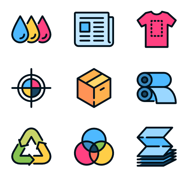 paper icon packs. Magazine clipart printing