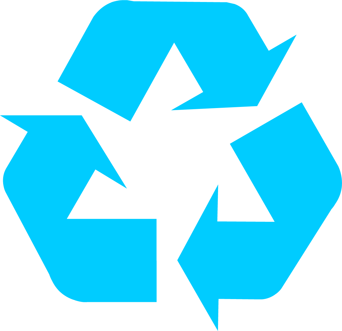 Clipart water bin. Download recycling symbol the