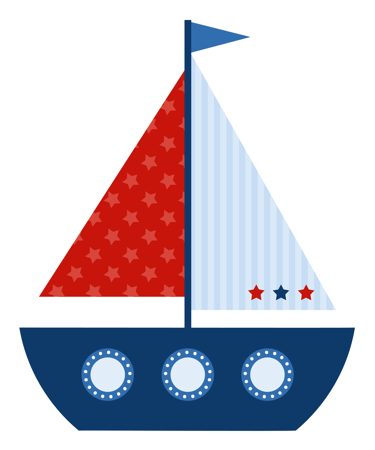 Paper clipart sailboat. Photo shared on meowchat