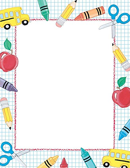 Clipart paper school papers. Great stuff letterhead count