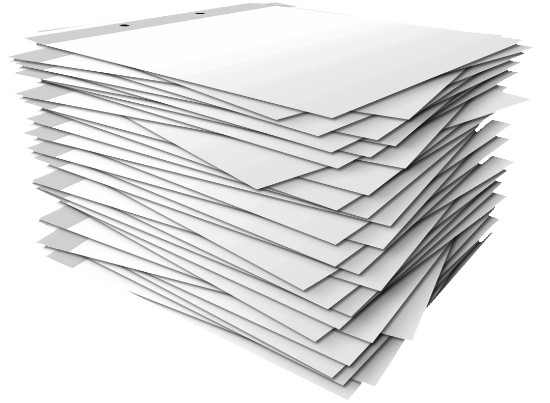 Leeo funding presentation . Clipart paper stack papers