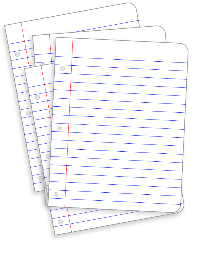 collection of png. Clipart paper stack papers