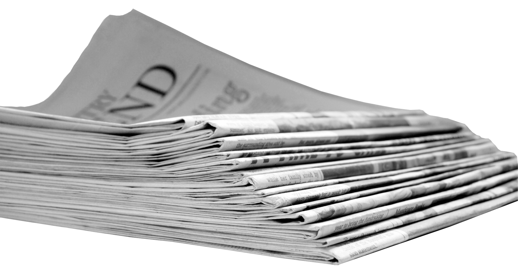 Paper clipart stack papers. Newspaper png transparent images